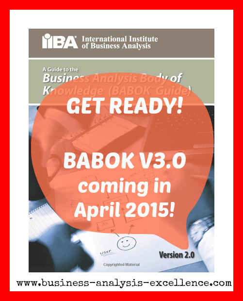 Babok Version 3 Get Certified Before The Exams Are Updated