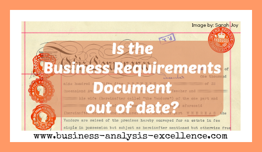 Business Requirements Document – Business Requirement Document