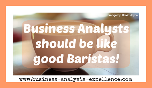 business analysts role