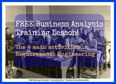 business analysis training