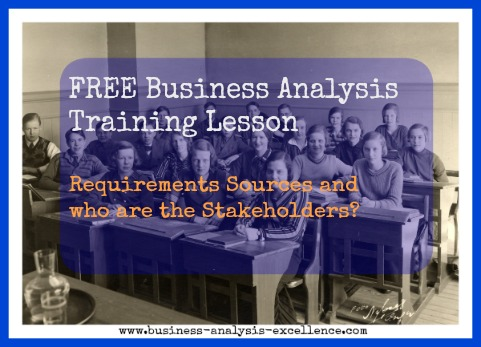 business analysis training lesson