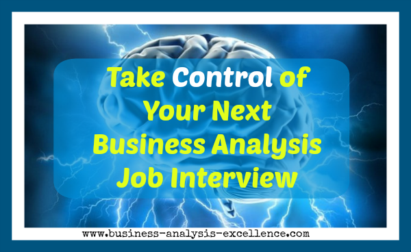 business analysis job interview