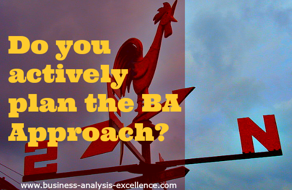 business analysis approach