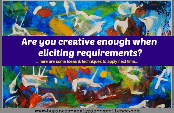 creative requirements elicitation