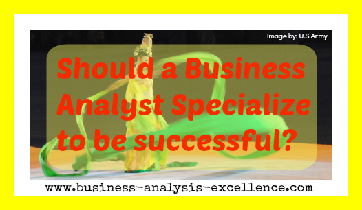 """analysis of business specialties So, what exactly is a business analyst what is the role of the analyst in solution delivery if you don't want to be completely confused, don't bother trying to get a conclusive definition by just """"googling"""" it."""